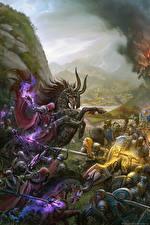 Фото WoW Воины Битвы Игры Фэнтези