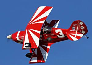 Фотографии Самолеты Полет Biplane Class