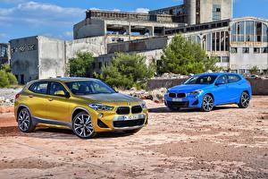 Обои BMW Двое 2018 X2 авто