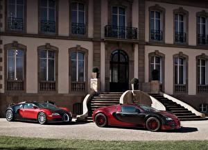 Фотография BUGATTI Вдвоем Люксовые Металлик 1999-2015 Veyron Авто