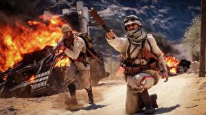 Картинки Battlefield 1 Солдаты Гранат Игры 3D_Графика