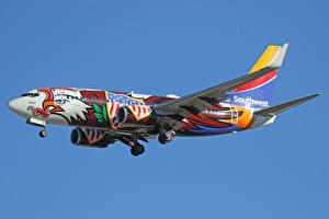Обои Boeing Самолеты Пассажирские Самолеты Полет