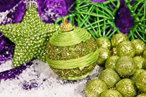 Картинки Рождество Шар Звездочки
