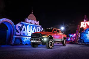 Картинка Додж Пикап кузов Красный 2016 Ram Macho Power Wagon автомобиль