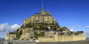 Фото Франция Дома Храмы Mont Saint Michel