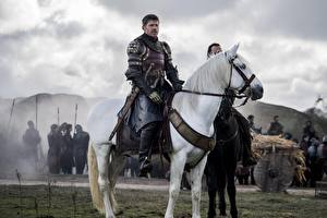 Фото Лошади Мужчины Воины Игра престолов (телесериал) Jaime Lannister Фильмы
