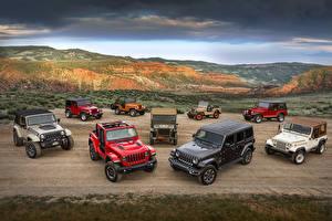 Фото Jeep Много Автомобили