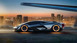 Обои Ламборгини Сбоку Terzo Millennio, Concept Авто