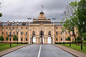 Картинка Россия Санкт-Петербург Дороги Дворец Constantine Palace