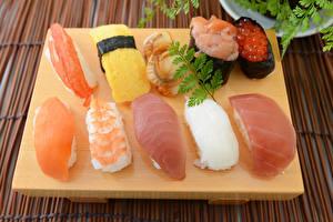 Фото Морепродукты Суси Рыба