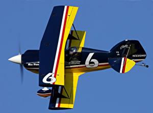 Картинки Самолеты Полет Biplane Class