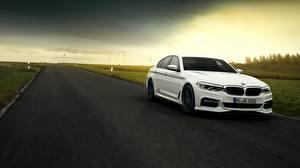 Фотографии BMW Белый ACS5 AC Schnitzer машины