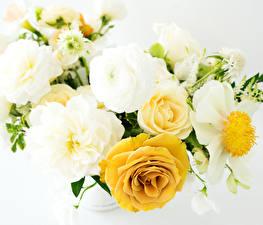 Картинки Букеты Розы