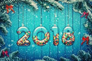 Картинки Новый год 2018 Снежинки