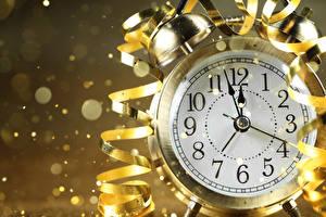 Фотография Новый год Часы Будильник