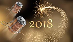 Картинка Новый год Фейерверк 2018