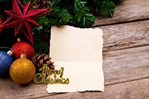 Картинка Рождество Доски Шаблон поздравительной открытки Шар Лист бумаги