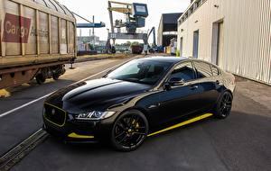 Обои Jaguar Черный Металлик 2017 Arden AJ24 Автомобили