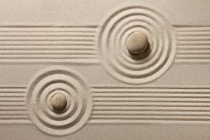Картинка Камень Песок Окружность zen