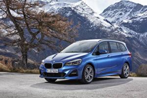 Фотографии BMW Голубых 2018 2 Series Gran Tourer M Sport Worldwide машина