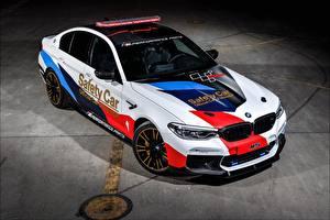 Картинка BMW Тюнинг 2018 M5 MotoGP Safety Car Автомобили