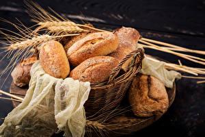 Обои Хлеб Корзина Колос Продукты питания