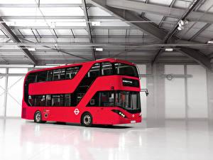 Картинка Автобус Красный 2015-18 Alexander Dennis Enviro400H City