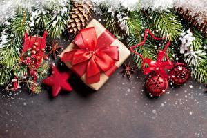Фотография Рождество Подарки Бантик