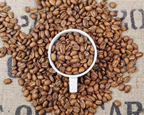 Фото Кофе Зерна Чашка Пища