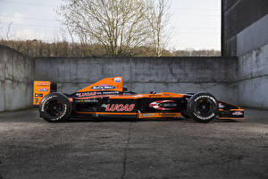 Картинка Формула 1 Сбоку Оранжевый 2000 Arrows A21 Автомобили Спорт