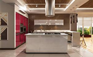 Картинки Интерьер Дизайн Кухня Стол