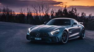 Картинка Мерседес бенц AMG, GT R 2018