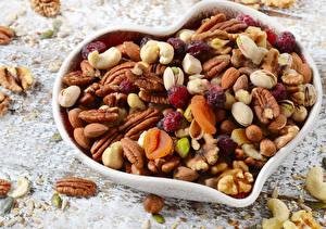 Фото Орехи Сердце Продукты питания