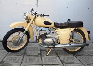Картинки Винтаж Сбоку 1965-71 Iz Jupiter-2 Мотоциклы