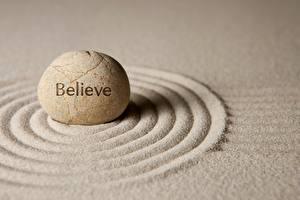 Фото Камень Песок Окружность zen belive