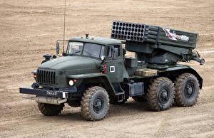 Фотографии Грузовики Ракетные установки 2014-18 Ural-4320-31 Армия