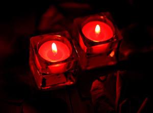 Фото День всех влюблённых Свечи 2