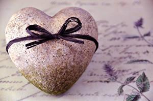 Обои День святого Валентина Сердце Бантик Мотоциклы картинки