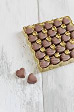 Фотография День всех влюблённых Сладости Конфеты Шоколад Сердечко