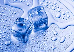 Картинка Вода Лед Капли