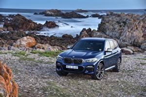 Обои BMW Синий Металлик 2017-18 X3 M40i
