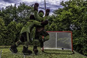 Обои Канада Парки Хоккей Мужчины Дизайн 2 Ottawa Ontario Природа