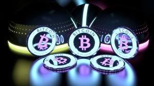 Обои Монеты Bitcoin