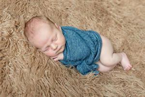 Фото Грудной ребёнок Сон Дети