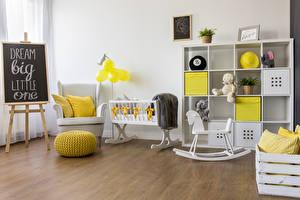 Фотография Интерьер Детская комната Мишки Дизайн Кресло