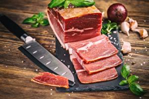 Картинка Ножик Мясные продукты Салом