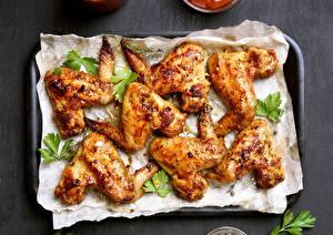 Картинка Мясные продукты Курица запеченная