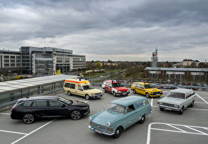 Фотография Opel Много Ретро Автомобили