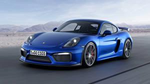 Фотографии Porsche Синяя Купе GT3 авто