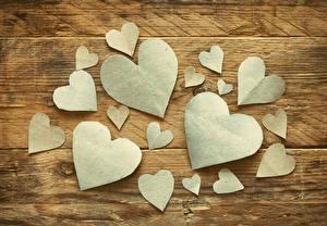 Фотография День святого Валентина Много Доски Сердечко